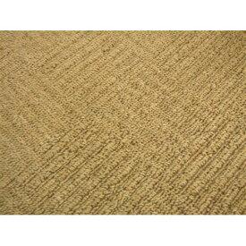 防炎折りたたみカーペット『ブロックス』 ブラウン 江戸間6帖(約261×352cm) カーペット 6畳 おしゃれ 防炎 ラグ ラグマット マット ラグカーペット 絨毯 リビング