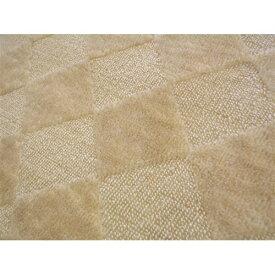 折りたたみカーペット『ゴキノン』 ベージュ 江戸間6帖(約261×352cm) カーペット 6畳 おしゃれ ラグ ラグマット マット ラグカーペット 絨毯 リビング