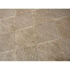 折りたたみカーペット『ゴキノン』 ブラウン 江戸間6帖(約261×352cm) カーペット 6畳 おしゃれ ラグ ラグマット マット ラグカーペット 絨毯 リビング