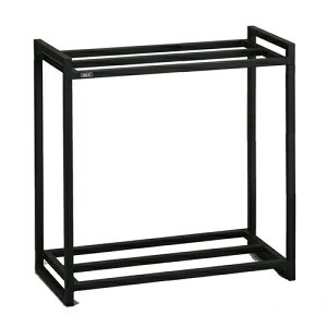 ≪あす楽対応≫ジェックス 60cm水槽用2段台組立 ブラック