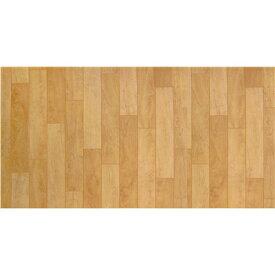 ≪あす楽対応≫1帖フロアーマット 木目 ベージュ 約80×170cm 木目 拭ける おしゃれ ビニール クッションフロア