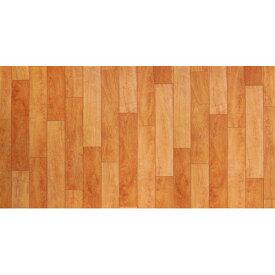 1帖フロアーマット 木目 ブラウン 約80×170cm 木目 拭ける おしゃれ ビニール クッションフロア