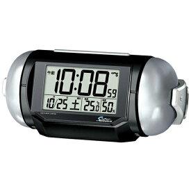 ≪あす楽対応≫電波 目覚まし時計 NR523K スーパーライデン 大音量 温度計 湿度計 セイコー SEIKO 新生活