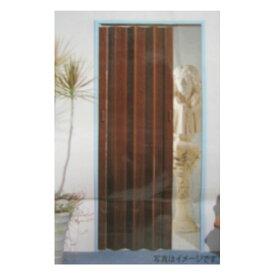 パネルドア 幅94×高さ174cm ブラウン アコーディオンカーテン 簡単取付 間仕切り 扉がわり 節電 省エネ対策 アコーディオンドア ブラインド 間仕切り カーテン パーテーション カジュアル シック モダン 防虫 コーナン