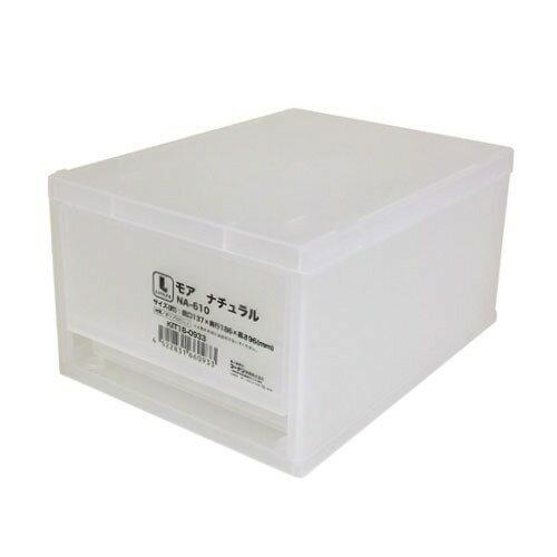 モア ナチュラル NA−610 KIT18−0933 衣装ケース 衣装ボックス 収納 収納ボックス 衣類収納 押入れ収納ボックス 収納家具 クローゼット プラスチック 収納用品 収納ケース 引き出し コンパクト コーナン