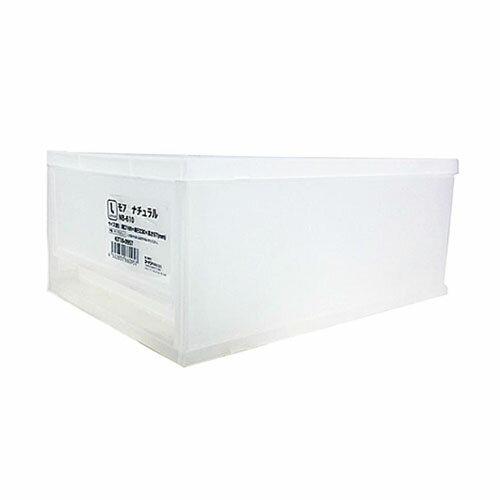モア ナチュラル NB−610 KIT18−0957 衣装ケース 衣装ボックス 収納 収納ボックス 衣類収納 押入れ収納ボックス 収納家具 クローゼット プラスチック 収納用品 収納ケース 引き出し コンパクト コーナン