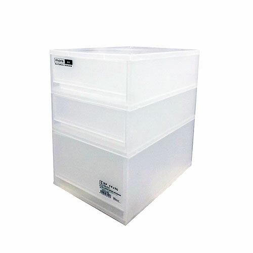 モア ナチュラル NA−412 KIT18−1053 衣装ケース 衣装ボックス 収納 収納ボックス 衣類収納 押入れ収納ボックス 収納家具 クローゼット プラスチック 収納用品 収納ケース 引き出し コンパクト コーナン