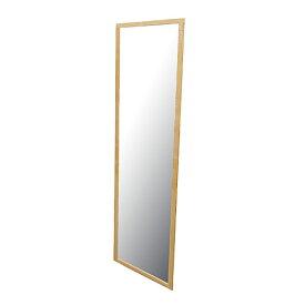 ウォールミラー12030 ライトブラウン KKH18−8687 鏡 ミラー 全身 姿見 アンティーク調 大型ミラー ビッグミラー 全身鏡 壁掛け ダンス用ミラー ジャンボミラー コーナン