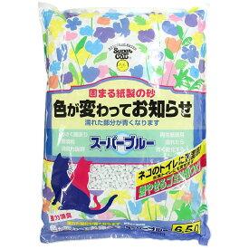 スーパーキャット スーパーブルー6.5L 猫 猫砂 猫トイレ トイレタリー 排泄