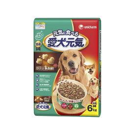 ユニ・チャーム 愛犬元気全成長段階用ささみ・ビーフ・緑黄色野菜入り6kg【ドッグフード ドライ】