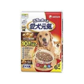 ユニ・チャーム 愛犬元気10歳以上の中・大型犬用ささみ・ビーフ・緑黄色野菜・小魚入り6kg【ドッグフード ドライ】