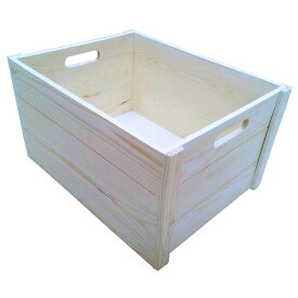 ≪あす楽対応≫コーナン オリジナル ウッドBOX L 外寸:約W410XD310XH220mm WBS01-0081Lサイズ