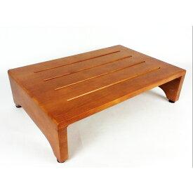 ≪あす楽対応≫コーナン オリジナル 木製玄関台(アジャスター付) ブラウン (約)幅600X奥行400XH160mm GD600-01-1299