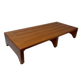 ≪あす楽対応≫コーナン オリジナル 木製玄関台(アジャスター付) ブラウン (約)幅900X奥行400XH160mm GD900-01-1305