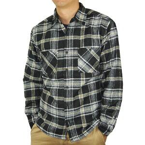 コーナン オリジナル 裏フリースワークシャツ 黒 L