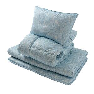 羊毛混布団3点セット「クロス」 ブルー KOH06−4849 コーナン 掛け布団 敷き布団 羊毛 布団セット 掛け敷き布団セット ふとん シングル