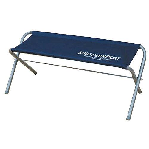 コーナン オリジナル 折畳式スタンダードベンチ 2人掛 ロイヤルブルー SP23CH007 (キャンプ用長椅子)
