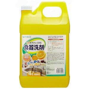 コーナン オリジナル 業務用食器洗剤4L グレープフルーツ