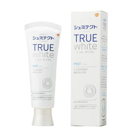 アース製薬 薬用シュミテクト トゥルーホワイト 研磨剤無配合 知覚過敏予防 歯磨き粉 80g