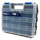 コーナン オリジナル 両面 パーツケース ブルー WPAME-706 サイズ:約幅320×奥行270×高さ80mm