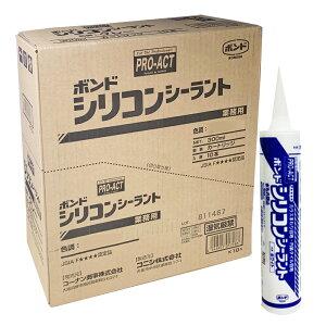 コーナン オリジナル PROACT(プロアクト) コニシ シリコンシーラント ホワイト 300ml 【シリコーンシーラント シリコンコーク】 ×10本セット
