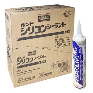 コーナン オリジナル PROACT(プロアクト) コニシ シリコンシーラント ライトグレー 300ml 【シリコーンシーラント シリコンコーク】 ×10本セット