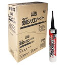 コーナン オリジナル PROACT(プロアクト) コニシ 変成シリコンシーラント ブラック 320ml ×10本セット