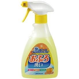 日本合成洗剤 ニチゴー 泡スプレーおふろ洗い 本体 400ml