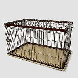 【期間限定】インテリアサークル WOODY L オークブラウン ペットサークル ペットケージ 犬 犬小屋 サークル ケージ ハウス コーナン