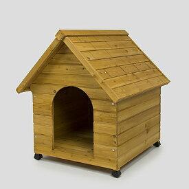 【期間限定】犬舎 600 犬小屋 屋外 木製 野外 室外 庭用 外飼 ドッグ ハウス おうち おしゃれ かわいい コーナン