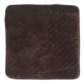 山善(YAMAZEN) 洗えるどこでもカーペット スクエアタイプ YWC−131F(T) 1 ブラウン 幅1300×奥行1300×高さ20mm