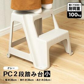 ≪あす楽対応≫コーナン オリジナル PC2段踏み台 小