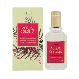 4711 アクアコロニア ピンクペッパー&グレープフルーツ EDC SP 50ml レディース 香水