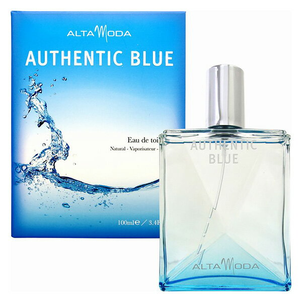 アルタモーダ オーセンティック ブルー EDT SP 100ml ユニセックス 香水