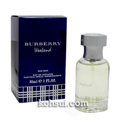 バーバリー BURBERRY ウィークエンド フォーメン オードトワレ EDT SP 30ml メンズ 香水
