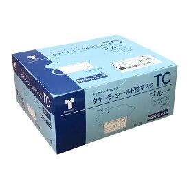 竹虎 タケトラシールド付マスク ブルー 9×17.5 25枚入≪検索用≫【05P05Dec15】