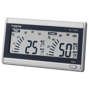 デジタル温湿度計ルームナビ PC-7700-2 卓上・壁掛け兼用 気温 湿度 温度 測定 おしゃれ インテリア【05P05Dec15】