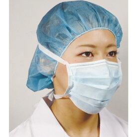 ファーストレイト:OPひもファイスマスク ブルー 1箱50枚入  使い捨てマスク プリーツ マスク サージカルマスク 3層 FR-195【05P05Dec15】