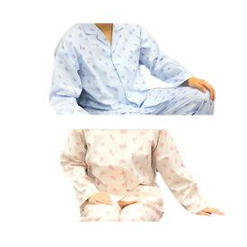 介護 パジャマ レディース ソフトケアパジャマ3 婦人用 スナップボタン式 ピンク 介護しやすい ゆったり設計 竹虎 簡単 介護用品 M