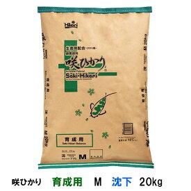 ☆キョーリン 咲ひかり 育成用 M 沈下 20kg【送料無料】【♭】