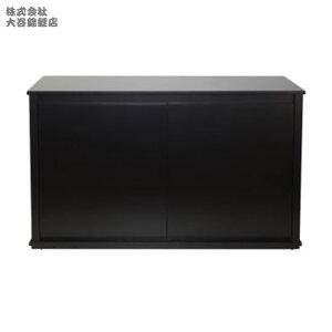 120cm水槽用キャビネットJUN ステージア 12045  (1200×450×700mm)ブラック【送料無料 但、一部地域送料別途】
