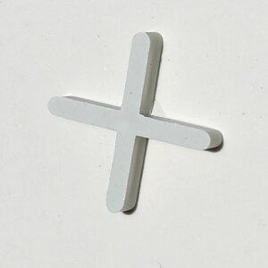 タイル 十字クロス目地スペーサー 目地幅3mm 200個入り(タイルスペーサー用)