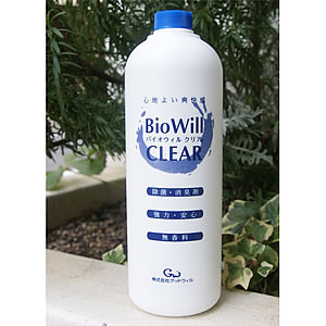 BioWillバイオウィルクリア詰替え用除菌・消臭1L