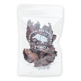【店内ポイント最大49倍!11日1時59分まで】ZYMO(ザイモ) 豚肺ジャーキー 40g(国内製造 国産素材 完全国産 無添加 犬用 おやつ)