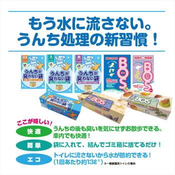 うんちが臭わない袋BOSペット用SS200枚【マナーポーチウンチ処理袋消臭】