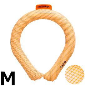 【店内ポイント最大34.5倍!】SUO for dogs 28°アイスクールリング 28°ICE_COOL RING M オレンジ 熱中症対策グッズ 暑さ対策 ひんやり 首 冷感 犬 大人 子供