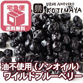 【★業務用・卸販売★ <送料無料>ワイルドブルーベリー(野生種)ノンオイル《11.34kg》】