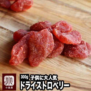 ★いちごの郷の苺使用★ ドライいちご 《300g》苺の甘くておいしい香りがたまりません。 子供に大人気のドライフルーツです。 ドライ苺 ドライイチゴ ドライストロベリー