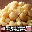 ナッツ専門店のマカダミアナッツ&チーズ 《500g》国産チーズが円やかな味わいなんです専門…