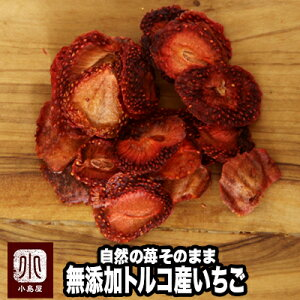 お試し小袋商品無添加:トルコ産ドライストロベリー ドライ苺《20g》自然のいちごの甘酸っぱい味と香りが口に広がります。紅茶に落としても良い香りでオシャレですね^^ フルーツ